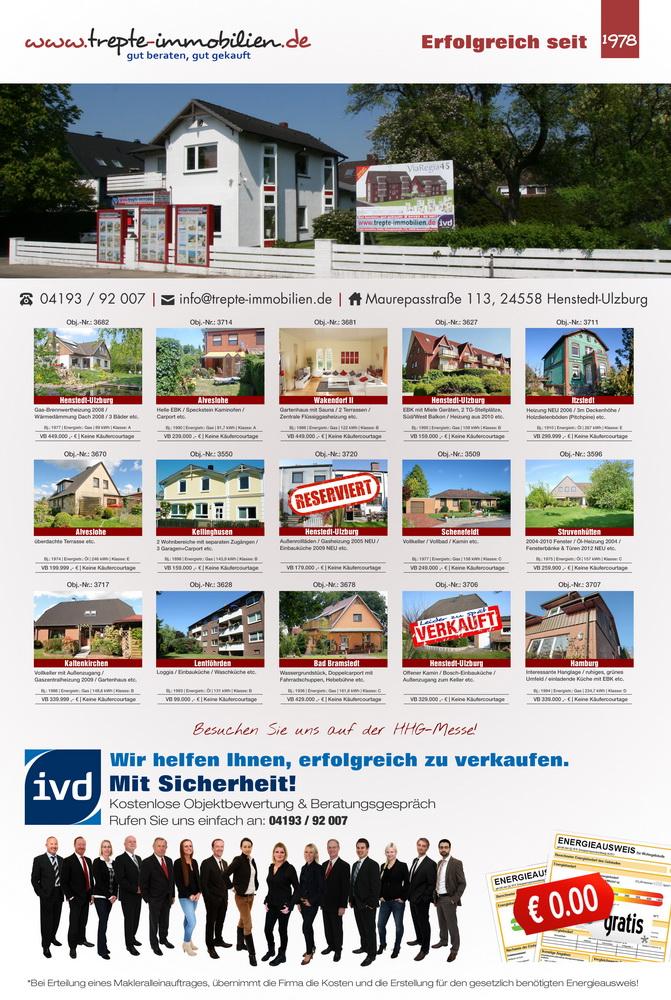 Michael Lucas Trepte-Immobilien GmbH Zeitungsinserat